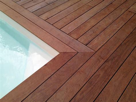 terrasse en bois construire une plage de piscine en bois terrasse bois