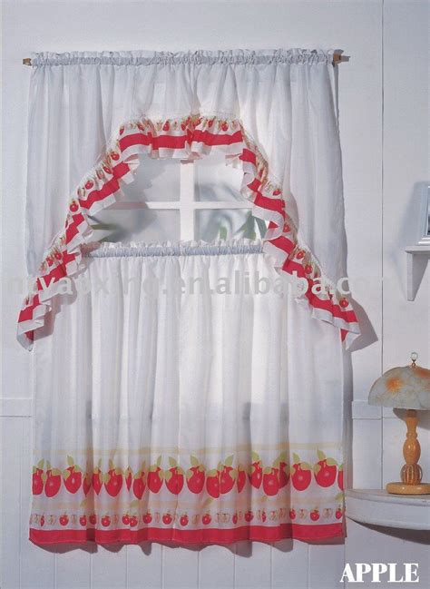Apple Kitchen Curtains Apple Curtains For Kitchen Photo 4 Kitchen Ideas