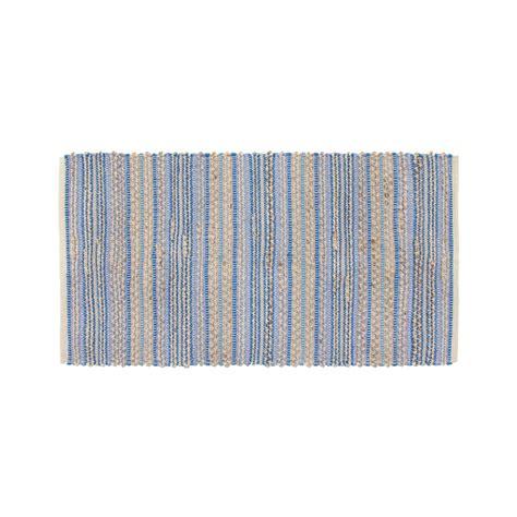 tappeto cucina cotone e juta a righe coincasa