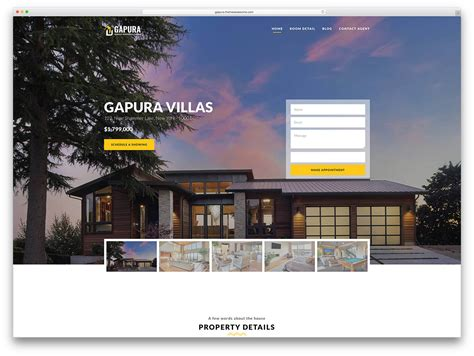 36 Best Real Estate Wordpress Themes For Agencies Realtors And Directories 2018 Colorlib Best Real Estate Web Templates