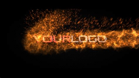 Free After Effects Template Fire Energy Logo Youtube After Effects Explosion Template Free
