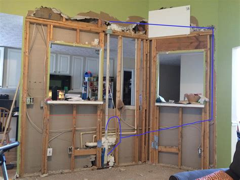 Adding An Island To An Existing Kitchen by Rerouting A Plumbing Air Vent Pipe Home Improvement