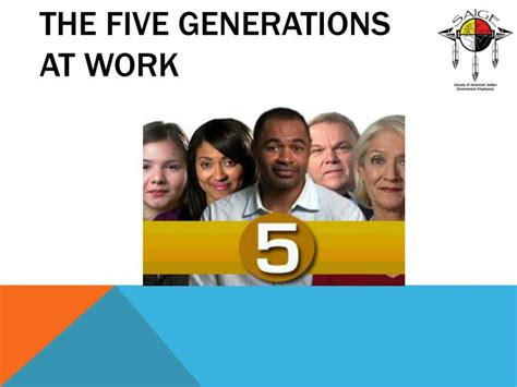 intergenerational engagement understanding the five generations in today s economy books ppt respect my generation 5 generations at work