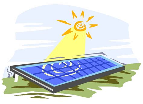 solar panels clipart solar power clipart