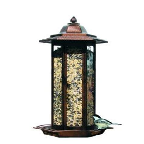 birdscapes tall tulip garden lantern wild bird feeder 366