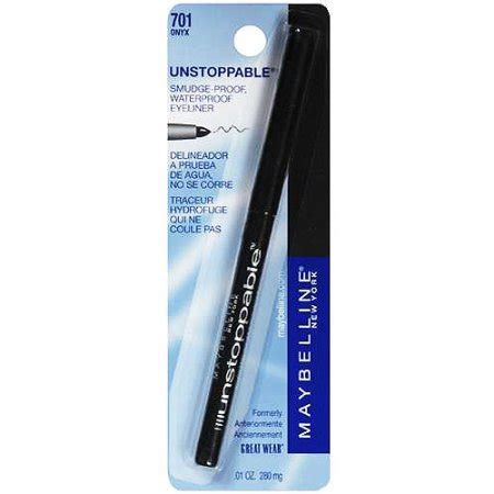 Maybelline New York Unstoppable Eyeliner maybelline new york unstoppable eyeliner onyx 0 01 oz walmart