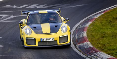 Porsche Nurburgring Times by 2018 Porsche 911 Gt2 Rs Nurburgring Record Is In 6 47 3