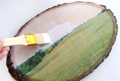 diy foto op hout mod podge diy een foto afdrukken op hout