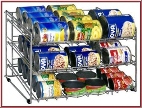 Kitchen Organizing Ideas Organize Canned Food In Proper Way Can Storage Rack