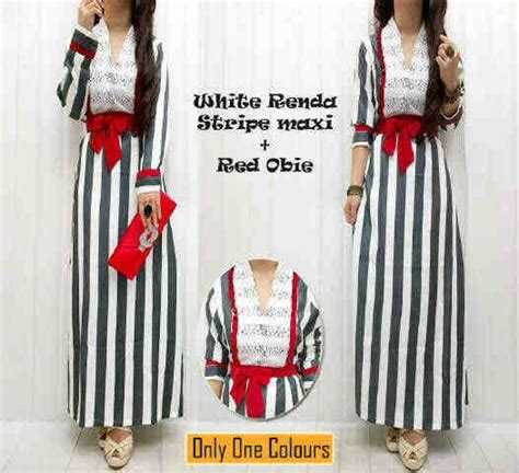 Stripe Bhn Katun Asli Fit L ready and ecer just for resellers