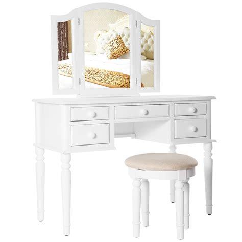 white makeup vanity table home furniture design