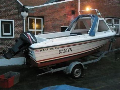warrior visboot te koop watersport en boten warrior 150 zoekertjes net