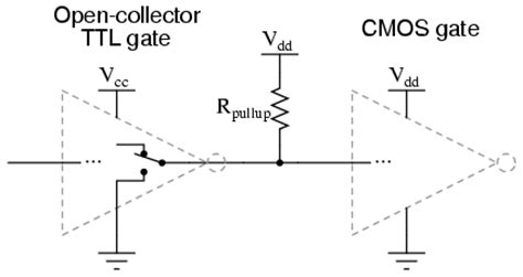 pull up resistor cmos lessons in electric circuits volume iv digital chapter 3