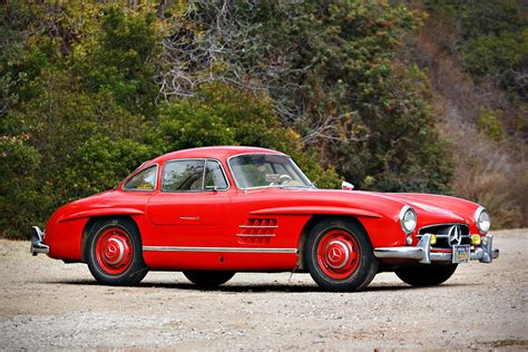 auction block 1955 mercedes 300sl gullwing