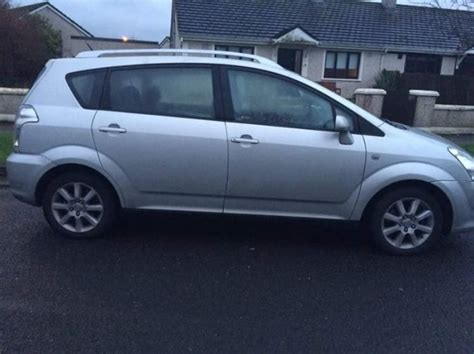 7 seater toyota verso for sale in leixlip kildare from