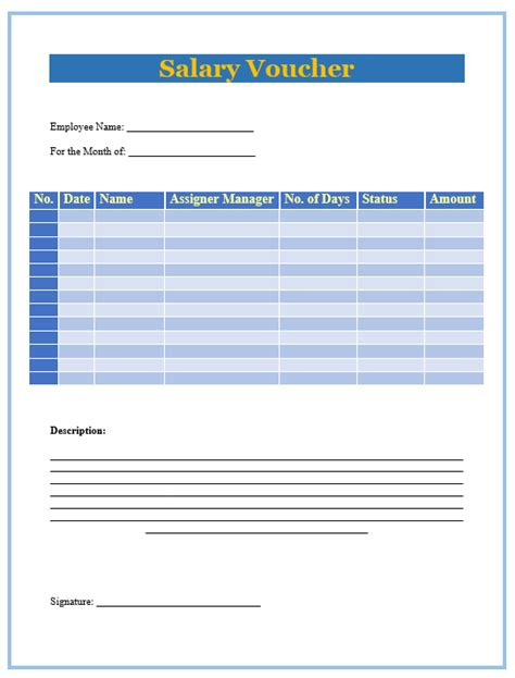driver salary receipt template india 8 salary slip format templates microsoft word templates
