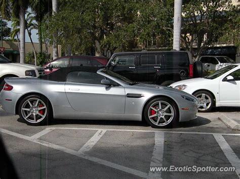 Aston Martin Of Naples by Aston Martin Vantage Spotted In Naples Florida On 12 30