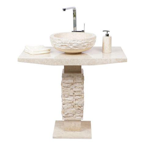 marmor waschtisch marmor waschtisch s 228 ule t model creme bei wohnfreuden kaufen