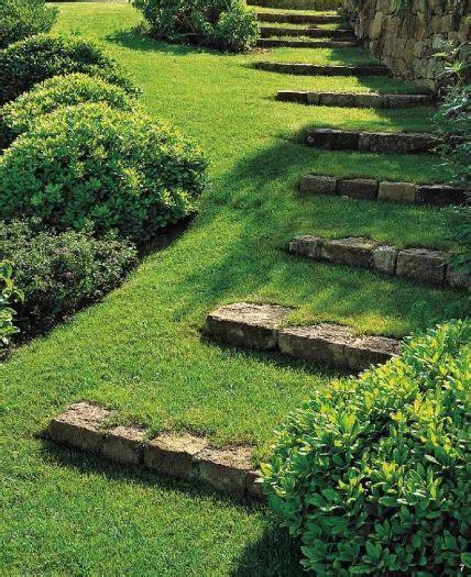 Imagenes De Jardines En Terrenos Inclinados | dise 241 o de jardines escalinatas en terrenos con desniveles