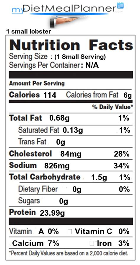Poached Tuna by Nutrition Facts Label Fish Amp Seafood 6
