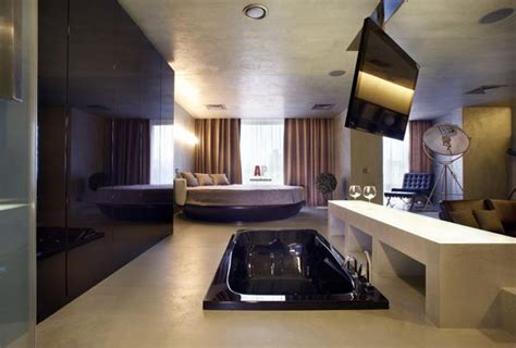 bathtub in bedroom 30 all in one bedroom and bathroom design ideas for space