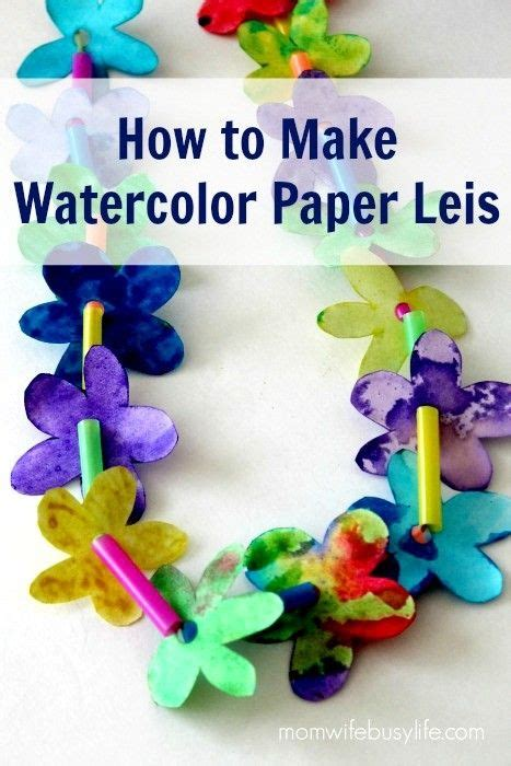 How To Make Watercolor Paper - how to make watercolor paper leis busy