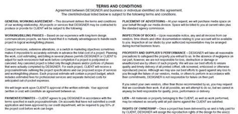 graphic design freelance contract free printable documents