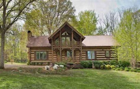 luxury log cabin  sale  tn hooked  houses