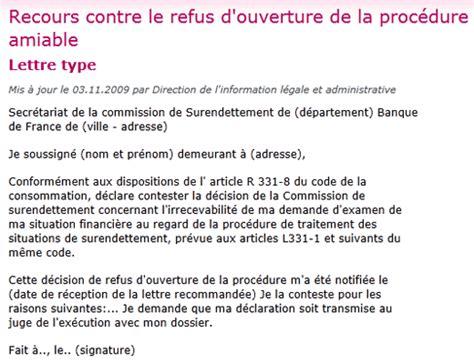 Lettre Type Gratuite Commission De Recours Contre Refus De Visa Faire Un Dossier De Surendettement