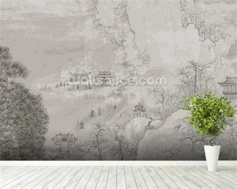 landscape wall mural landscape china wallpaper wall mural wallsauce usa