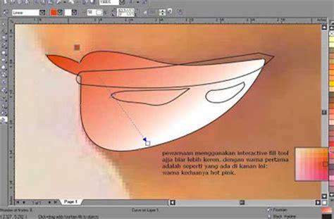 tutorial vektor menggunakan corel draw tutorial kartun vektor menggunakan corel draw kelas desain