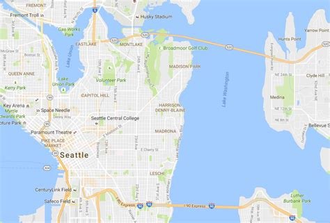 seattle map i5 what s better than a lid remove i 5 entirely from central