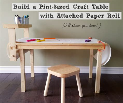 craft table with paper roll turtles and tails diy children s craft table with paper roll