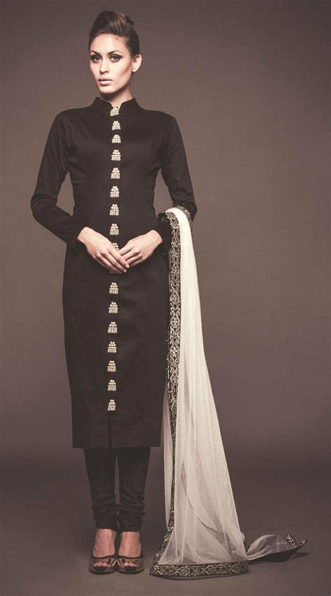 net pattern salwar suit exclusive black raw silk and net exclusive straight fit