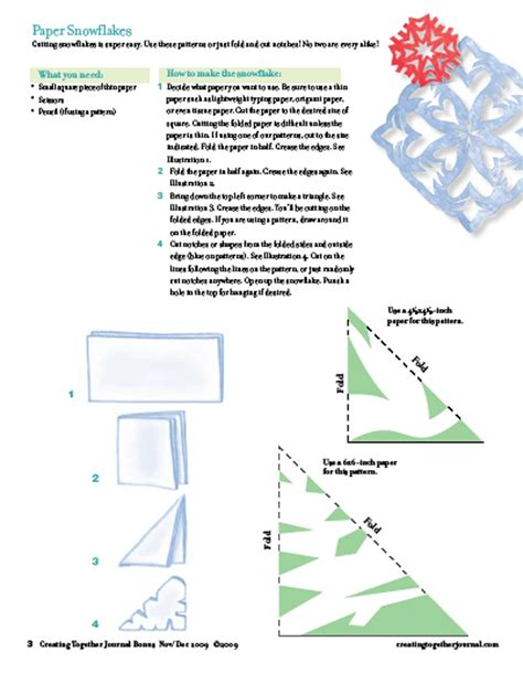printable paper snowflake instructions snowflake paper patterns new calendar template site