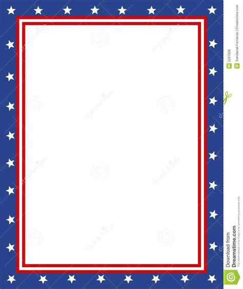 Insurance Border Letter free patriotic page borders patriotic border sponsored child letter mailing ideas