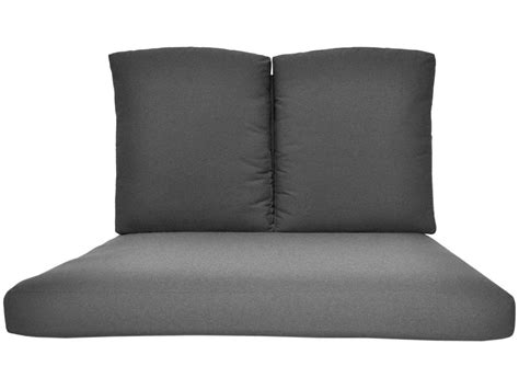 double chaise cushion replacement meadowcraft hanamit 3 piece double chaise cushion h1058 01