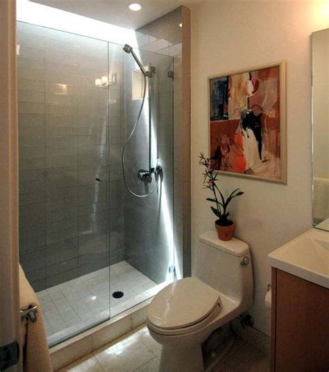 shower only bathroom designs