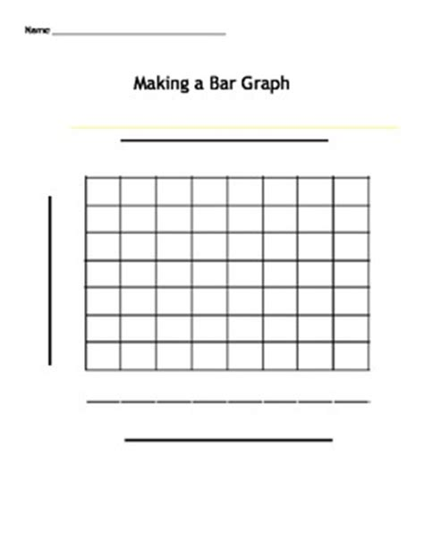 bar graph printable template a bar graph template by bre doyle teachers pay