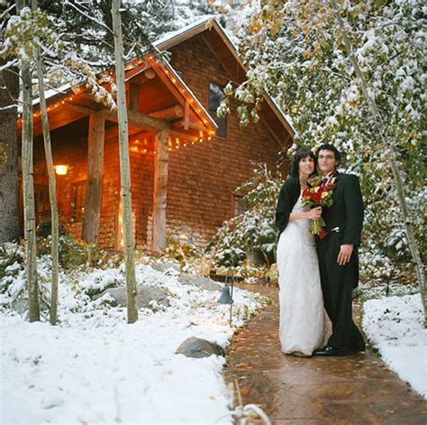 Winter Cabin Wedding by 3 Reasons To Get Married In The Winter Chicago Wedding