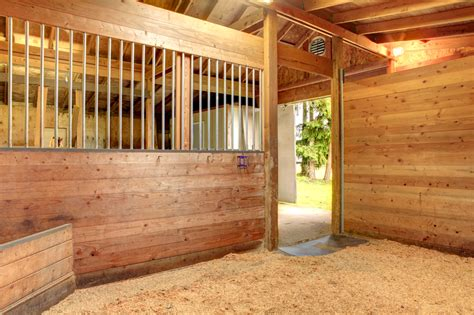 horse stall bedding horse stall bedding a new bale of wood shavings in horse