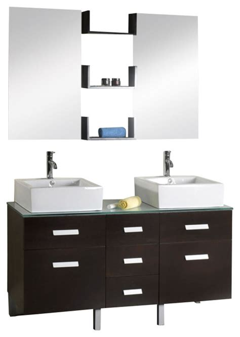 56 bathroom vanity double sink 56 inch modern double sink bathroom vanity modern
