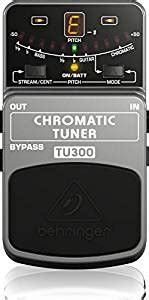 Behringer Tu300 Bass Guitar Tuner Effects Pedal behringer tu300 musical instruments
