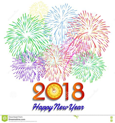 clipart buon anno happy new year 2018 clip free merry