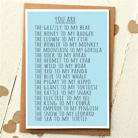 Card For Boyfriend Anniversary