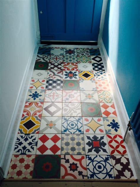 Patchwork Cement Tile - patchwork encaustic cement tiles