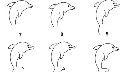 tutorial gambar lumba lumba resourceful parenting menggambar lumba lumba langkah demi