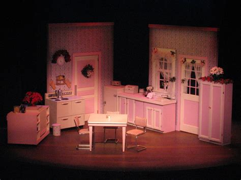 Victorian House Design absurd person singular theatre design by trenton bean