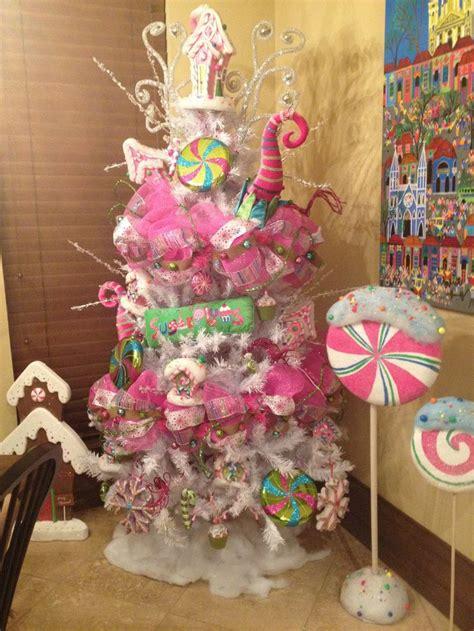 lollipop candy christmas christmas theme tree ideas