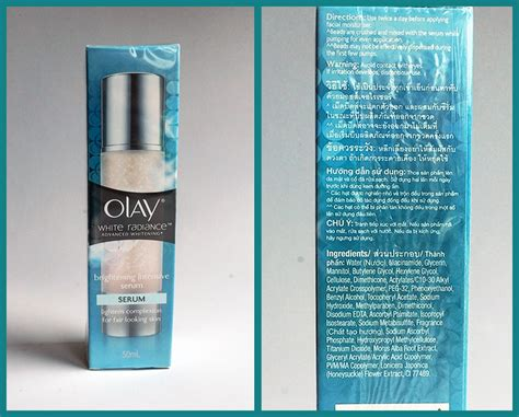 Olay White Radiance Brightening Intensive Lotion pearreland ร ว ว คร ม olay white radiance brightening